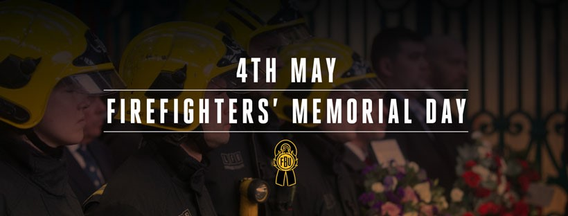 Stand with your firefighters on Memorial Day